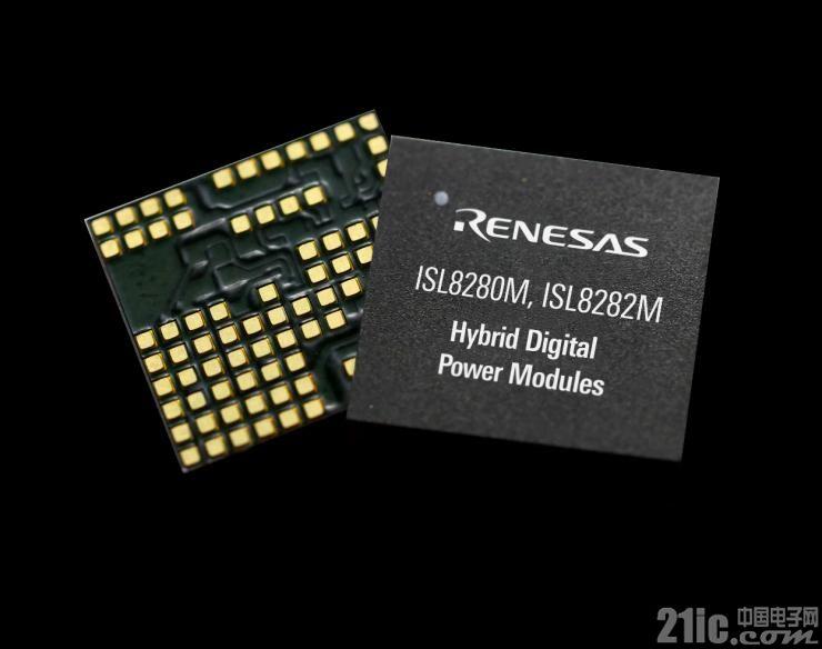 瑞萨电子中国  ISL8282M