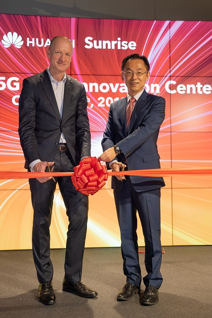 Sunrise携手华为成立欧洲首家5G联合创新中心