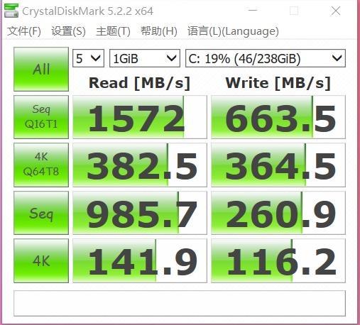adolbook14磁盘、内存、屏幕性能测评