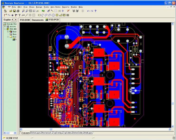 电路仿真软件详谈(八),proteus电路仿真软件和protel的区别