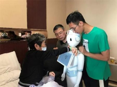 智慧医疗:服务机器人
