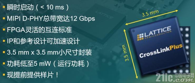 CrossLinkPlus系列产品特性