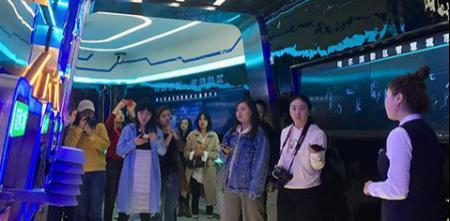 记者到访哈尔滨新区智慧城市大数据中心