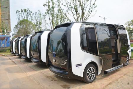 驶向新时代!36辆东风自主智能网联汽车产品齐亮相