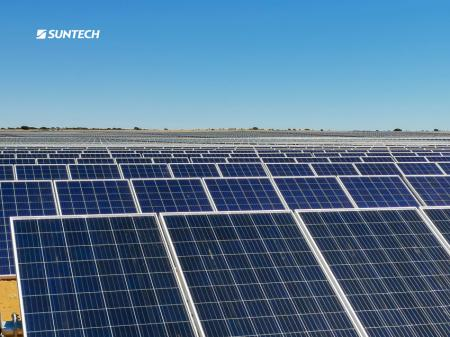 光伏与钻石同璀璨,尚德为南非250MW电站供货
