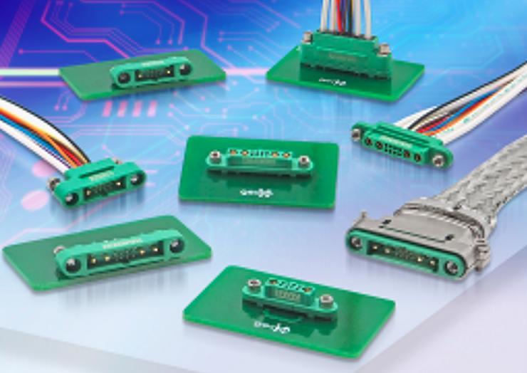 Harwin能够向业界提供迄今为止体积最小、重量最轻的混合布局连接器