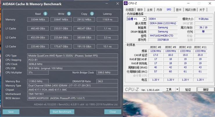 RedmiBook 14锐龙版磁盘内存、屏幕测评