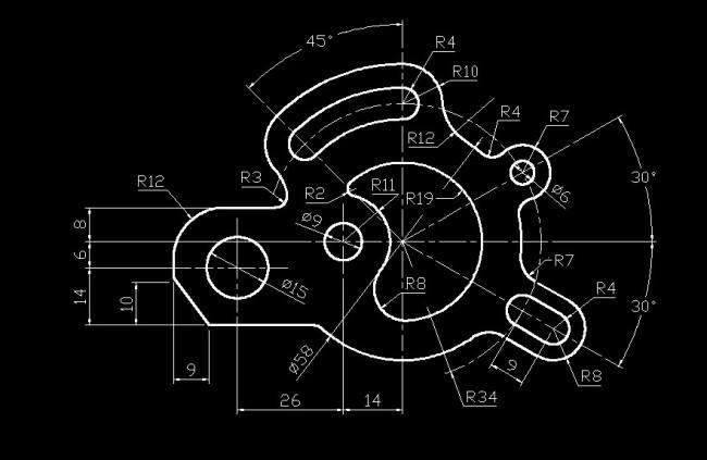 大佬�v解�C械制�D基�A知�R(十三),�C械制�D基�A知�R之42�l常�R