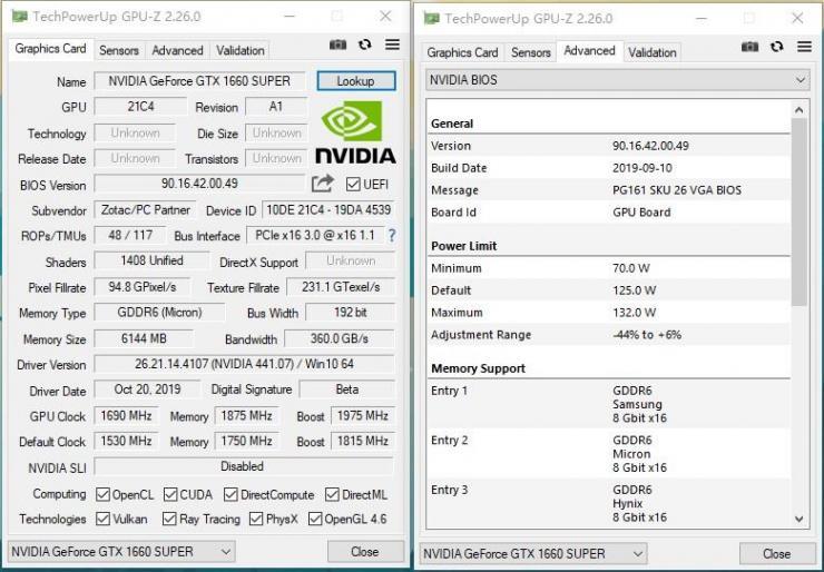 索泰GTX 1660 Super X-GAMING OC超频性能测评