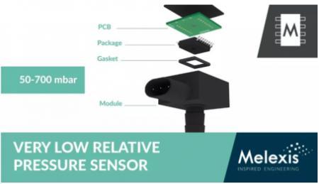 Melexis 推出独特的压力传感器 IC