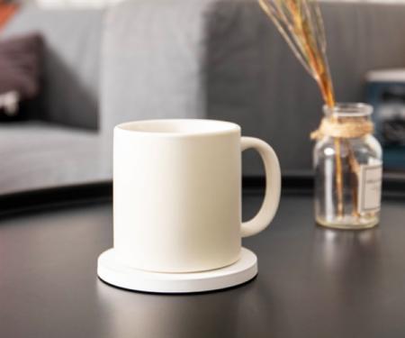 小米55℃超级新品暖暖杯:无线充电 +恒温