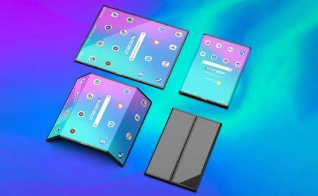 小米折叠屏手机网络疯传:双折、四摄?