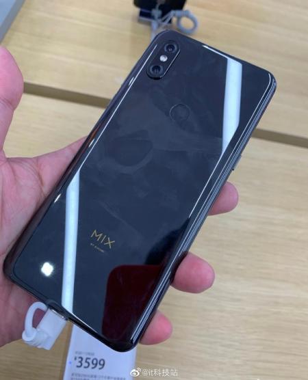 小米MIX 3 5G版入网 或售3599元 你会买吗?