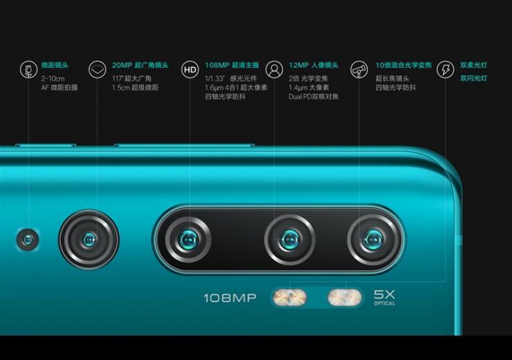 小米CC9 Pro与华为Mate30 Pro,谁的相机参数更强?