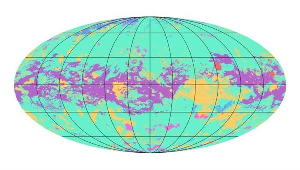 """堪称太阳系""""第二地球""""!NASA发布其首张地质图"""