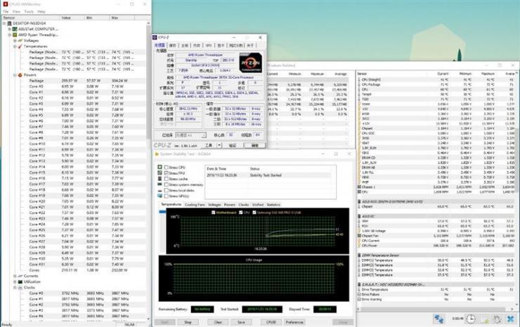 AMD�J��ThreadRipper 3970X超�l性能�y�u