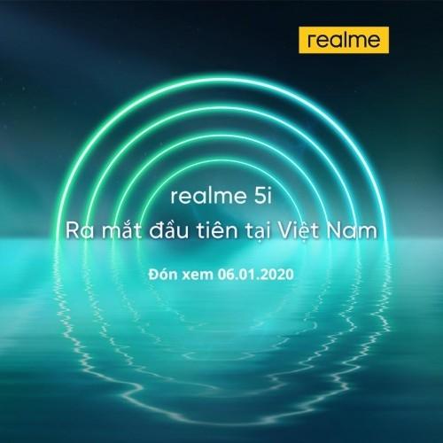 realme 5i即将发布