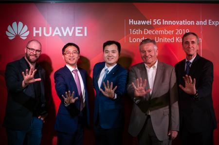 奔向未来!华为伦敦5G创新与体验中心开幕