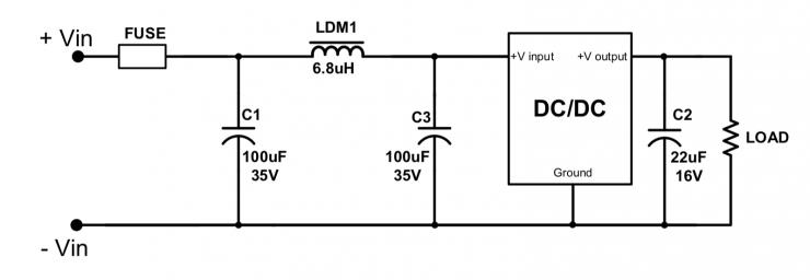 只需要加一����蔚�V波器,就可以�_保符合CISPR32/EN55032 B���室�求