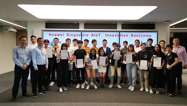 培养高技能人才!华为首个海外AIoT创新训练营落地新加坡