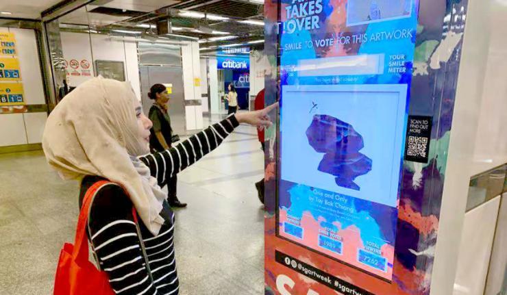 用AI连接艺术!商汤科技助力新加坡地铁互动艺术装置