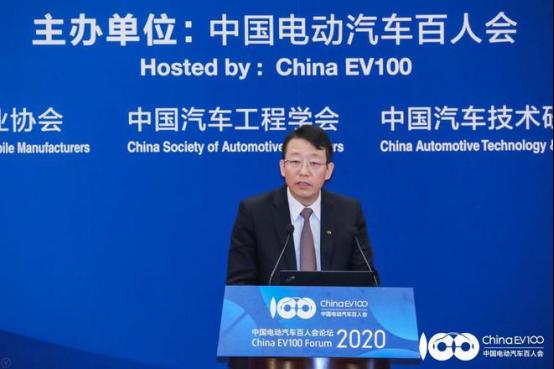 广汽集团总经理冯兴亚:未来新能源汽车产业大有可为