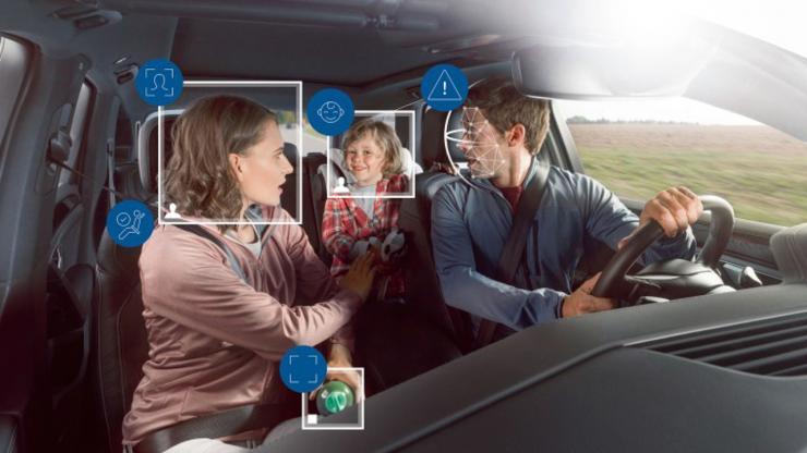 博世推出新型车内监控系统,智能摄像头让司乘更安全!