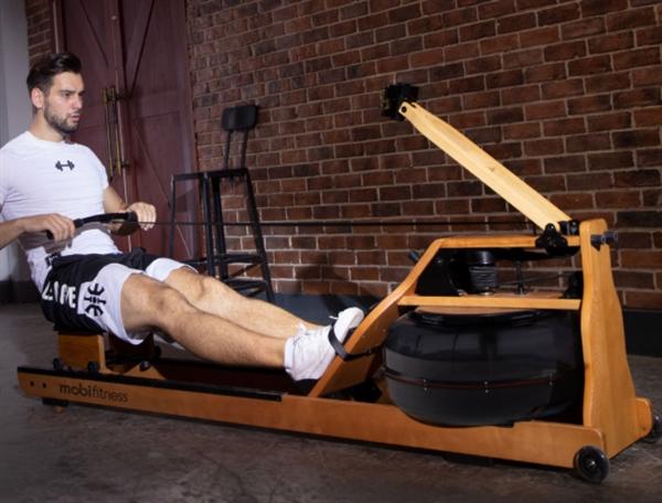 划船+健身:莫比智能划船机