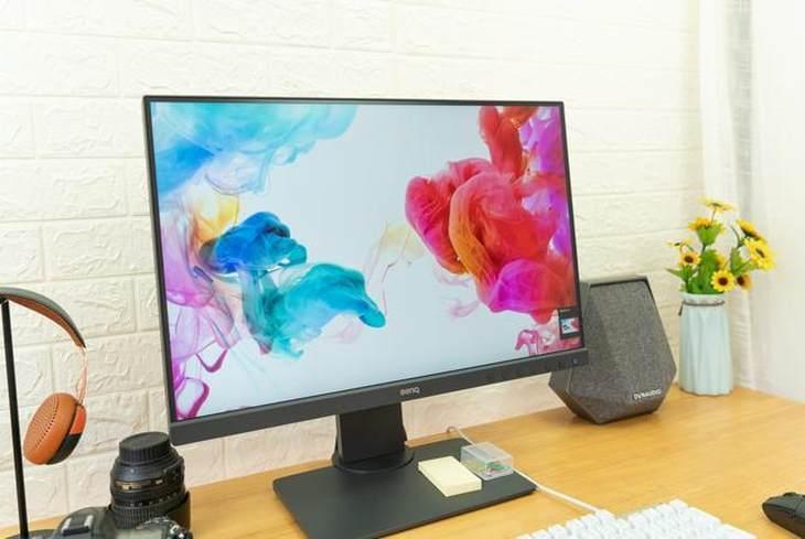 明基SW240显示器,设计师首选