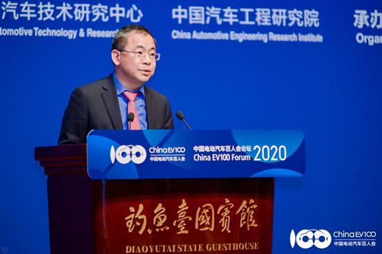上汽集团总裁王晓秋:新能源汽车的破局之道