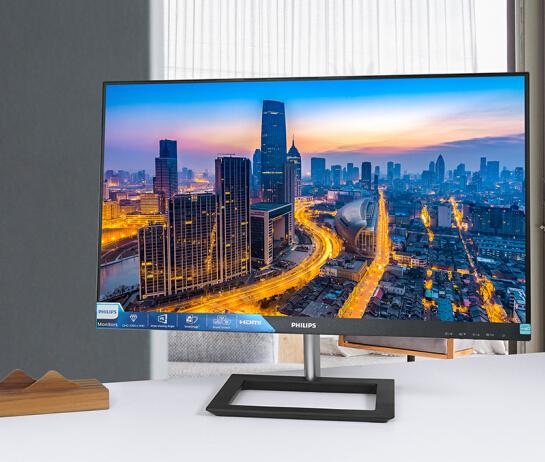 飞利浦275E1显示器,2K+IPS硬屏技术