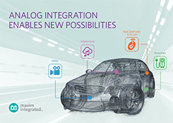 MAXIM INTEGRATED与NVIDIA®通力合作 打造面向汽车信息娱乐和辅助驾驶系统的DRIVE™ CX和PX平台