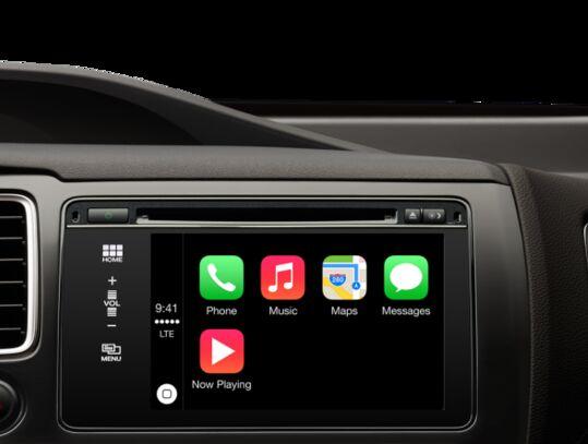 多款2016年北美车型将支持苹果Carplay车载系统