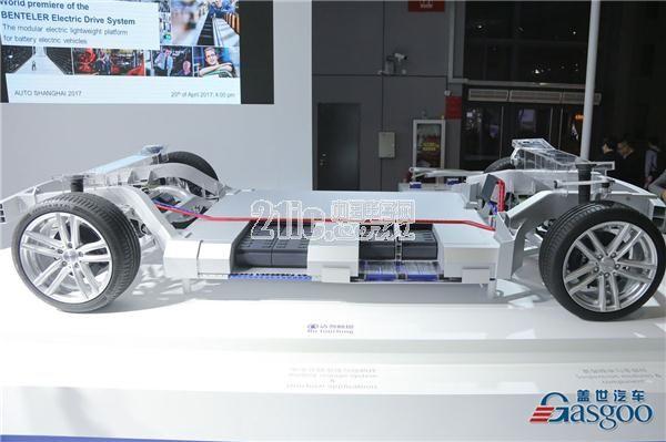 本特勒电动汽车底盘系统上海车展全球首发