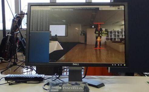 电装集团推出56毫秒推断行人朝向和距离新技术