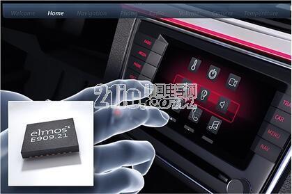 elmos推出汽车级新一代非接触式接近检测和手势识别器件