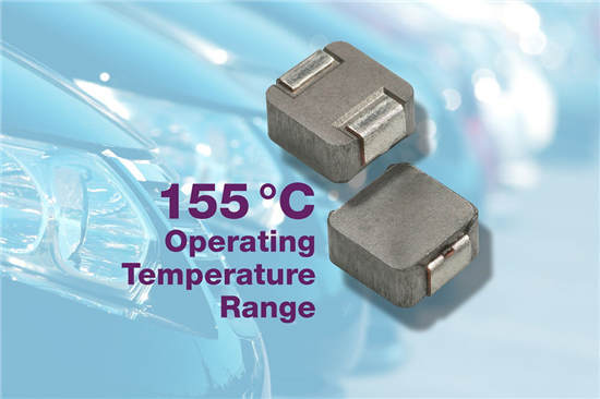 Vishay新款IHLP 电感器可节省空间 满足汽车应用所需的高温性能