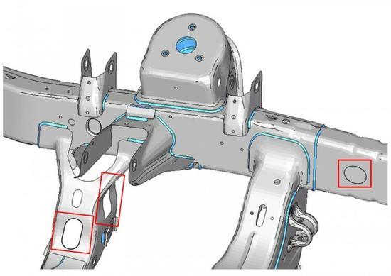 为减轻车身重量 菲亚特-克莱斯勒提出在底盘上打洞新技术