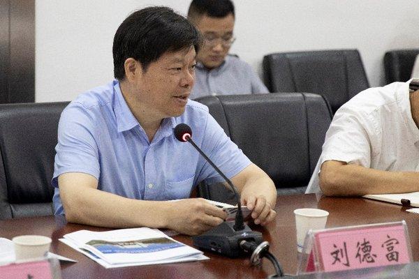 湖北工业大学校长刘德富致辞
