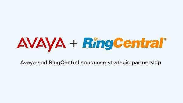 RingCentral �cAvaya �_成�鹇院献�
