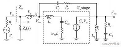 核心电路小信号等效电路图