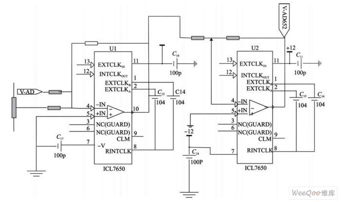 电压放大偏置原理图