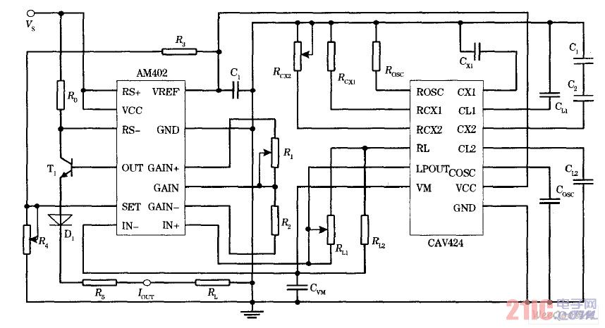 电容信号测量电路
