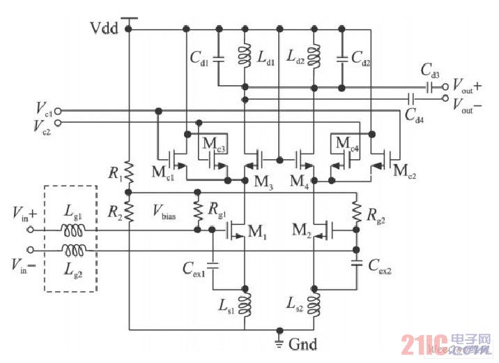 低噪声放大器原理图