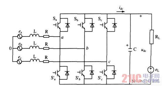 PWM整流器电路结构