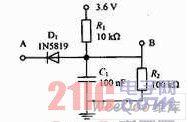 振动检测电路图
