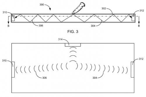 苹果申请虚拟键盘专利:采用声波定位技术