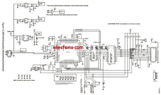 ADP1650 评估板主板电路图