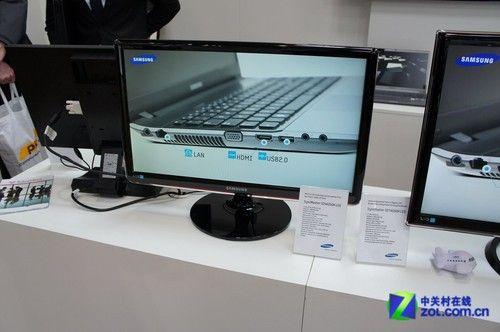Cebit2012:三星无线视频传输液晶亮相