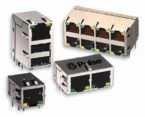 集成分立变换器的连接器被用于当今的高速系统